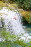 Waterfalls on Krka River. National Park, Dalmatia, Croatia Royalty Free Stock Image
