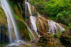 Waterfalls Krushuna stock image