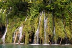 Waterfalls and lakes in Plitvička jezera national park, Croatia Stock Photography