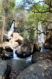 Waterfalls Landscape. Image of the Horse Shoe waterfall in South Africa Royalty Free Stock Photography