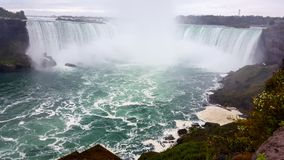 Waterfalls Landscapes Niagara Falls , Toronto. Incredible Landscapes of the natural Niagara Falls It`s a True Spectacle ! spectacular cascades North East America stock photo
