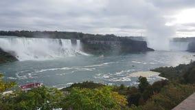 Waterfalls Landscapes Niagara Falls , Toronto. Incredible Landscapes of the natural Niagara Falls Royalty Free Stock Image
