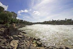 Waterfalls in Laos Stock Images