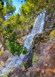 Waterfalls at Loutraki Greece Royalty Free Stock Photography