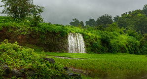 Waterfalls at Maharashtra, India. Series of waterfalls near Karjat, Thane, India Royalty Free Stock Images