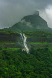 Waterfalls at Maharashtra, India. Series of waterfalls near Karjat, Thane, India Royalty Free Stock Photography