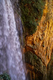 Waterfalls at Monasterio de Piedra, Zaragoza, Aragon, Spain Royalty Free Stock Image