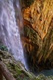 Waterfalls at Monasterio de Piedra, Zaragoza, Aragon, Spain Stock Photography