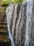 Waterfalls at Monasterio de Piedra, Zaragoza, Aragon, Spain Royalty Free Stock Photos
