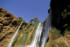 Waterfalls in Morocco Stock Photography