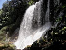 Waterfalls. Most beautiful cuban waterfalls in a place known as El Nicho Stock Images