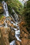 Waterfalls in the mountain at Sapa Royalty Free Stock Images