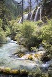 Waterfalls in mountain Royalty Free Stock Photo