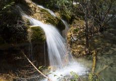 Waterfalls in mountain Stock Photos