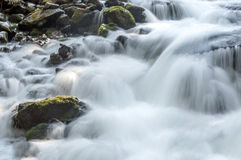 Waterfalls in the mountains Royalty Free Stock Photo