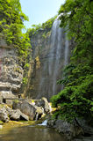 Waterfalls near Xiaofeng River Stock Photography