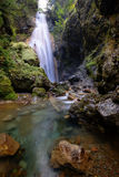 Waterfalls of Norikura, Nagano, Japan. Royalty Free Stock Photography