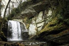 Waterfalls in North Carolina Mountains Royalty Free Stock Images