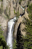 Waterfalls in Our National Parks. A Beautiful Waterfall in One of our National Parks Royalty Free Stock Photography