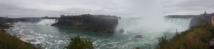 Waterfalls Panorama Landscapes Niagara Falls , Toronto Royalty Free Stock Photos