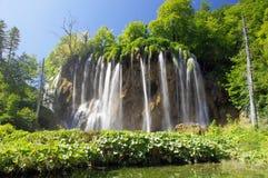Waterfalls of Plitvica, Croatia Royalty Free Stock Image