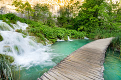 Waterfalls in Plitvice Stock Photo