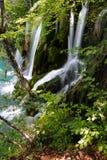 Waterfalls in Plitvice lakes Royalty Free Stock Photo