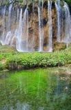 Waterfalls in Plitvice Lakes National Park Stock Photos