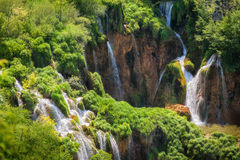 Waterfalls in Plitvice Royalty Free Stock Photo