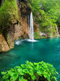 Waterfalls in Plitvice Royalty Free Stock Photos