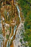 Waterfalls in Plitvice Lakes National Park Stock Photo
