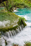 Waterfalls in Plitvice Lakes National Park, Croatia Royalty Free Stock Image