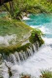Waterfalls in Plitvice Lakes National Park, Croatia Royalty Free Stock Image