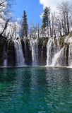 Croatia: Plitvice lakes national park, waterfalls stock photos