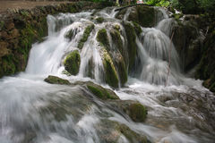Waterfalls in Plitvice Royalty Free Stock Photography
