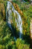 Waterfalls in Plitvice Lakes National Park Stock Image