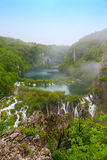 Waterfalls in Plitvice Royalty Free Stock Images