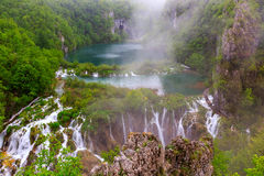 Waterfalls in Plitvice Stock Photos