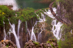 Waterfalls in Plitvice Royalty Free Stock Image