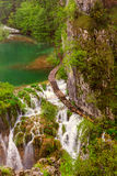 Waterfalls in Plitvice Stock Images