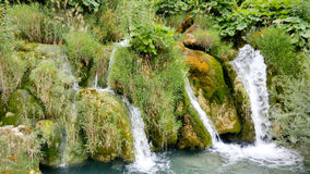 Waterfalls in Plitvice National Park Stock Photography