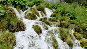 Waterfalls in Plitvice National Park Stock Photos
