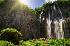 Waterfalls plitvitce Royalty Free Stock Images