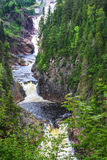 Waterfalls in quebec canada. Seven waterfalls in quebec canada Stock Photos