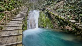 33 waterfalls resort in Sochi Russia Stock Image