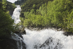 Waterfalls of the Riesenbach, Austria Royalty Free Stock Images
