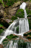 Waterfalls Rissloch. Beautiful waterfalls Rissloch in the Bavarian Forest-Germany Stock Photography