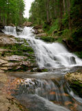 Waterfalls Rissloch - Germany. Beautiful waterfalls Rissloch in the Bavarian Forest-Germany Royalty Free Stock Image