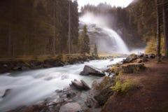 Waterfalls. & river in Interlaken, Switzerland Royalty Free Stock Photo