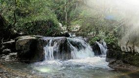 Waterfalls river. Natural waterfalls river stock photo